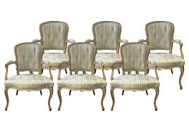 Style Dining Chairs Viyet Designer Furniture Seating Antique Louis Xv Style Tufted