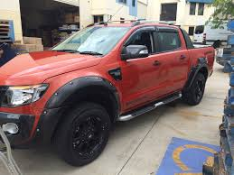 ford ranger wild track getting a cosmetic touch chrome low nudge