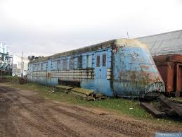 rusty train abandoned and rusty soviet turbo jet train english russia