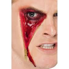 latex for halloween makeup zip face latex scar kit halloween make up fancy dress halloween