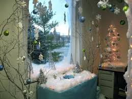 winter wonderland cubicle ideas decorating office best at the