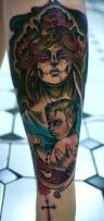 Son Tattoos Ideas Mother Son Tattoos Mother And Son Dia De Los Muertos By