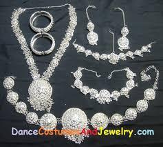 odissi jewelry set silver jewelry for odissi