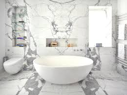 Carrara Marble Bathroom Designs Luxurious White Marble Bathroom Decorating Ideas Cool White Marble
