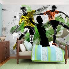 Football Wall Murals by Wallpaper 450x280 Cm Non Woven Murals Wall Mural Photo