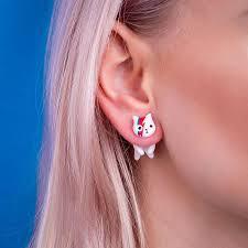 cat earrings cat earrings how i turned my hobby into business bored panda