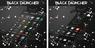 apk laucher black theme launcher apk version 1 264 13 92