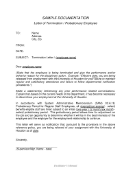 Termination Of Employment Contract Letter by Employment Termination Letters 10 Free Word Pdf Excel Format