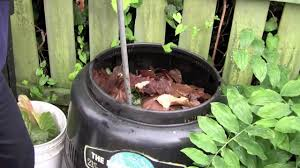 composting in a backyard bin at city farmer youtube