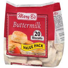 mary b u0027s buttermilk biscuits 20 ct bag walmart com