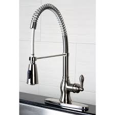 modern faucets kitchen spiral kitchen faucet vigo modern pull out faucets at target