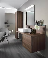 delos console with back panel vanity units from duravit architonic