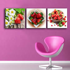 Home Decor Wall Paintings Online Get Cheap Strawberry Painting Aliexpress Com Alibaba Group