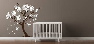 Cherry Blossom Tree Wall Decal For Nursery Blossom Tree Wall Decal