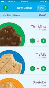 digital order card scout cookies