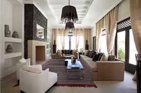 Morocco Homes Interior  Residence In Moroccorefined Moroccan - Interior design moroccan style