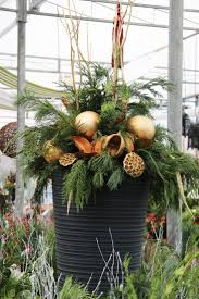 Best Outdoor Christmas Decorations by 34 Best Outdoor Christmas Planters Images On Pinterest Outdoor