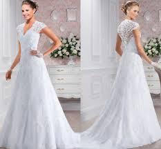 simple lace wedding dresses aliexpress com buy simple lace wedding dress vernassa