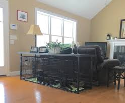 Dog Crate Furniture Bench Best 25 Dog Crate Table Ideas On Pinterest Dog Crate Cover Dog
