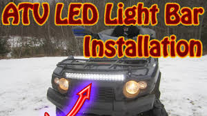 Led Light Bar Utv by Diy How To Mount A Mictuning 22