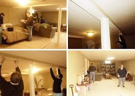 Hanging Curtain Room Divider by Curtain Track System Used As A Room Divider In Our Basement Kataydee