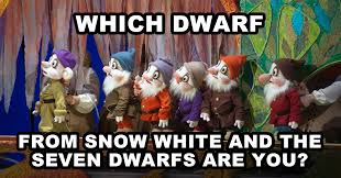 Snow White Meme - which dwarf from snow white and the seven dwarfs are you question 1