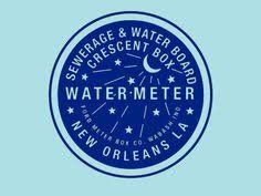 water meter new orleans new orleans water meter coaster bring a bit of the big easy in your