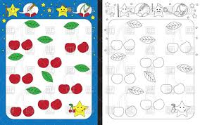 Preschool Worksheet Preschool Worksheet Template Tracing Dashed Lines Vector Image