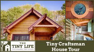 craftman house tiny craftsman house tiny house tour youtube