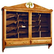 Plans For Gun Cabinet Woodworking Plans From The Woodworkers Workshop