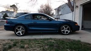 Black Mustang 2000 Rubbing On 245 45 17s Mustang Evolution