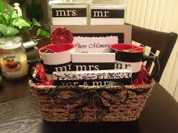 cheap baskets for gifts bridal shower gift basket the mr mrs gift items