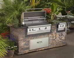 outdoor kitchen island with metal outdoor kitchen appliance gas