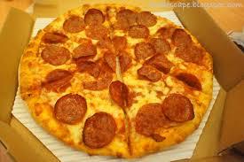 domino pizza tangerang selatan domino s pizza food escape indonesian food blog