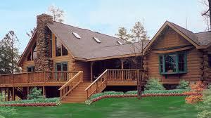 log home design plan and kits for roanoke