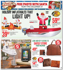 bass pro shops santa in tracker boat available on black