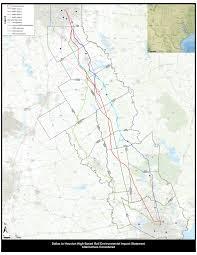 6 Train Map Maps Texans Against High Speed Rail