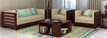 Buy Living Room Furniture Online India Starts   WoodenStreet - Indian furniture designs for living room