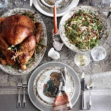 plymouth turkey dinner plates williams sonoma