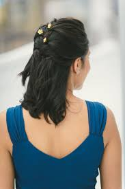 plait at back of head hairstyle 5 quick and easy bridesmaid hairstyles the everygirl