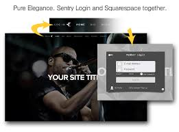 Log In Website Password Protection Made Easy Sentry Login Features