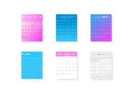 Small Desktop Calendar Free Design Template Of Desk Calendar 2018 Download Free Vector Art