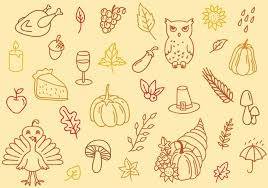 free thanksgiving background free vector stock