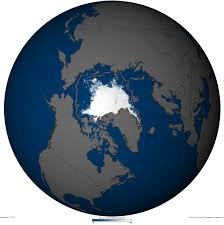 Arctic Map State Of The Climate 2011 Arctic Sea Ice Minimum Noaa Climate Gov