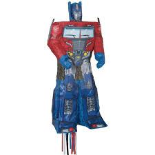 optimus prime pinata hasbro licensed transformers optimus prime piñata by unique