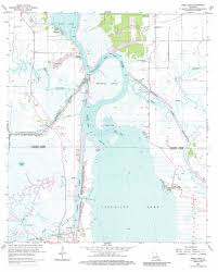 Lake Charles Louisiana Map by Moss Lake Topographic Map La Usgs Topo Quad 30093a3