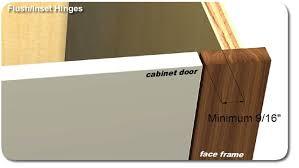 Flush Cabinet Door Hinges by Flush Construction