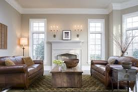 molding ideas for living room traditional living room with concrete floors by highgate builders