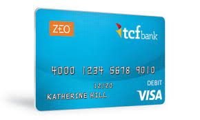 ready prepaid card tcf bank introduces zeo prepaid card and services for