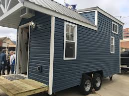 tiny houses student built tiny houses on public auction the holler